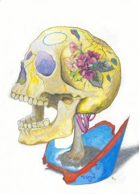 lovers-skull